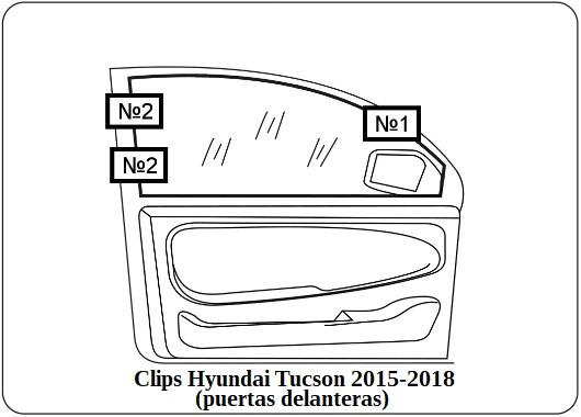 parasol a medida hyundai tucson 2015-2018