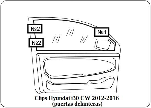 parasol a medida hyundai i30 cw 2012-2016