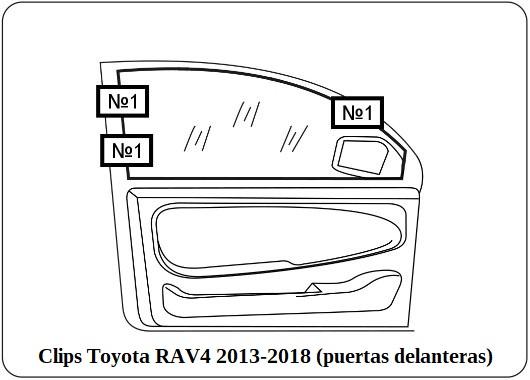 parasol a medida Toyota RAV4 2013-2018