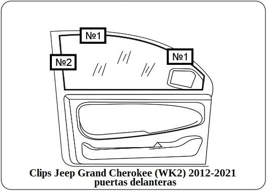 cortinilla a medida jeep grand cherokee (wk2) 2012-2021