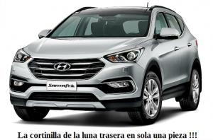 cortinilla a medida Hyundai Santa Fe