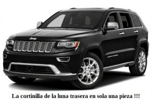 Parasoles cortinillas solares a medida Jeep Grand Cherokee