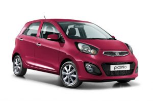 Kia Picanto UK fuchsia blush