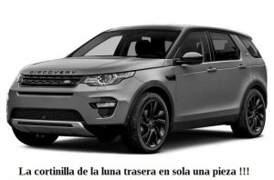 parasol cortinilla a medida land rover discovery sport