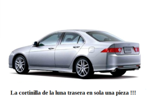cortinilla a medida honda accord