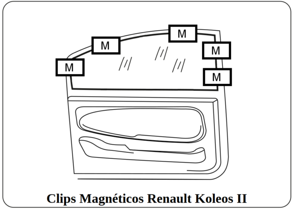 cortinilla a medida renault koleos II